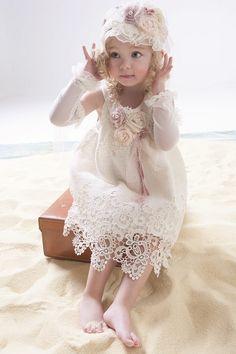 Ρούχα βάπτισης για κορίτσι