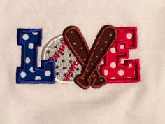 Baseball onesie I made for my daughter!