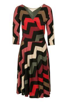 Sacha Drake Reverse Wrap Dress - Womens Knee Length Dresses at Birdsnest Fashion