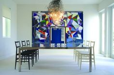 Emphasis - Miami Townhouse modern dining room