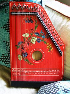 hand harp #bohemian #gypsy #decor