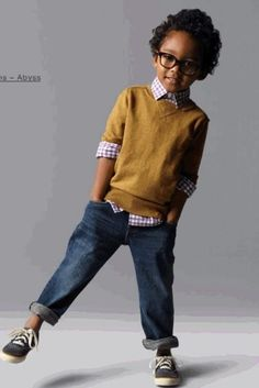 Boy kid fashion style