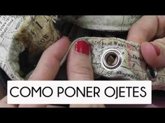 TUTORIAL COMO PONER OJETES - YouTube