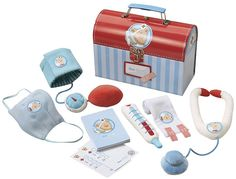Doc HABA Medical Kit.. Perfect pretend play toy for a little doctor-in-the-making!
