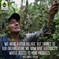 Behind every cup of #coffee is a person. Remember as you enjoy your cup tomorrow morning! #FairTrade
