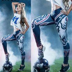 DANENJOY Digital Print Legging High Waist Stretch Fitness Yoga Pants Sports Fitness Pants Women Skinny Pencil Active Pants