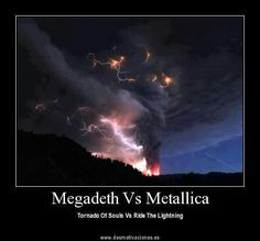 Megadeth vs Metallica #meme
