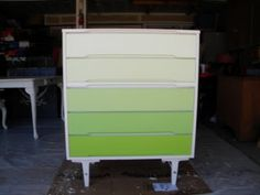 ombre painted furniture - Google Search