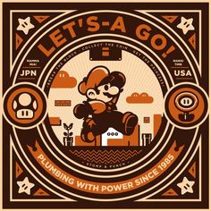 Here's a great art show tribute to video games at Hero Complex Gallery. As usual, lots of awesome artworks and artists, some from website Geek-Art Super Mario Brothers, Super Mario Bros, Super Nintendo, Mundo Super Mario, Idee Baby Shower, Retro Videos, Geeks, Expo, Geek Art