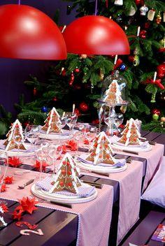 gingerbread trees // una buena opción de obsequios navideños
