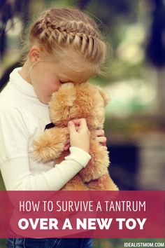 When your kid throws a temper tantrum over wanting a new toy at the store, here's a creative solution to help you handle the pouting, crying, and foot-stomping.