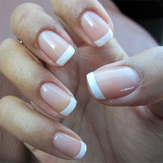 Natural Look - Gel nail overlay extention