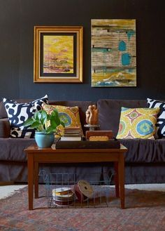 """STUDIO TOUR  -  """"Once a Garage, Now an Art Studio and Office"""" by Sarah Greenman."""