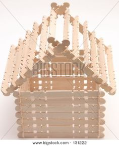 42 Best Popsicle stick birdhouse images in 2017 | Bird house