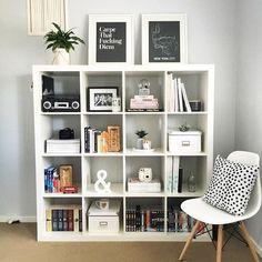 10 Smart Wall Storage Designs That Make Homes Save Space – Bookshelf Decor Bedroom Storage Ideas For Clothes, Bedroom Storage For Small Rooms, Home Office Organization, Home Office Decor, Home Decor, Organization Ideas, Cube Shelves, Ikea Shelves, Room Shelves