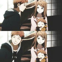 Naho y Suwa #Orange #anime