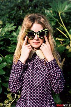 lottie moss 2014 5 Kates Sister, Lottie Moss, Makes Vogue Debut in Teen Vogue Shoot