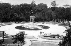 Monumento a Morelos en 1914