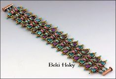 Kit prices are set to encourage class sign-ups. Supply Lists can. Super Duo, Woven Bracelets, Seed Bead Bracelets, Jewelry Patterns, Beading Patterns, Beaded Jewelry, Handmade Jewelry, Bead Store, Beading Tutorials