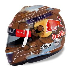 Racing Helmets Garage: Arai S.Vettel Bahrain 2014 by Jens Munser Designs Biker Helmets, Custom Motorcycle Helmets, Custom Helmets, Racing Helmets, Football Helmets, Helmet Paint, Safety Helmet, Helmet Design, Mini Bike