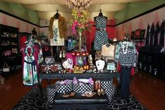 How to Start a Clothing Boutique - picture of display
