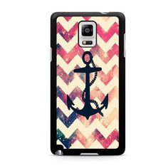 Anchor Chevron For Samsung Galaxy Note 4 Case