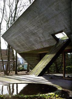 Juliaan Lampens - House Van Wassenhove, Sint-Martens-Latem 1974. Scans from here, 2, photos (C) Filip Dujardin, Jan Kempenaer.