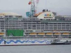 Video: AIDAprima schwimmt in japanischen Gewässern | traveLink.
