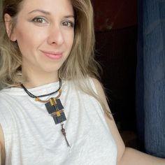 Boho Statement Necklace / Black & Mustard Long Necklace / | Etsy Black Leather Choker, Black Choker Necklace, Boho Necklace, Etsy Jewelry, Boho Jewelry, Jewelry Accessories, Fashion Accessories, Handmade Shop, Etsy Handmade