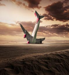 Photographer George Christakis from Greece, has created a series of surreal and dreamlike photographs, by mixing photography and digital painting.