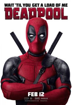 """New """"Deadpool"""" Posters Encourage You to """"Feel the Love"""""""