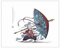 兵法.招魂伞 The Art of Yi Wang Blog/Website | (wmm.cghub.com/) || CHARACTER DESIGN REFERENCES | キャラクターデザイン // Hi Friends, want to see more pins like this? Make sure to follow our board @Moire #illustration