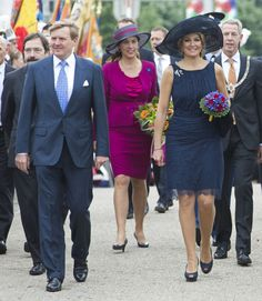 MYROYALS  FASHİON: King Willem- Alexander and Queen Maxima Visit Limburg and Brabant