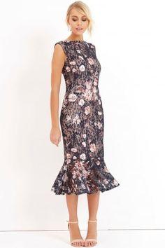Печать Bodycon платье
