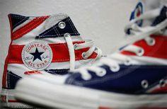 Converse all star drapeau anglais