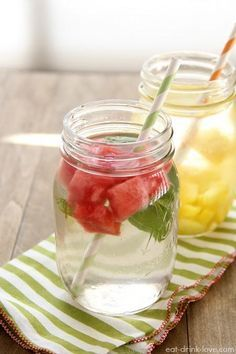 10 receitas de água aromatizada …