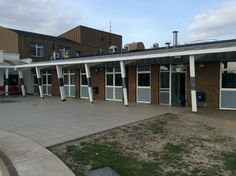 Windows and Doors replaced in a east London school. Scandinavian Windows, Scandinavian Design, Sliding Doors, Garage Doors, Aluminium Windows, East London, New Builds, New Construction, Windows And Doors