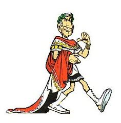 Julius Caesar -- Love his looks from Asterix the most hah!