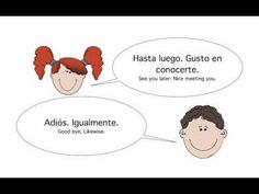 Basic Spanish Conversation: Greetings and Introductions - YouTube