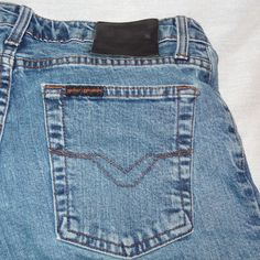 Harley Davidson Size 8 Boot Cut Blues Denim Jean Women's  #HarleyDavidson #BootCut