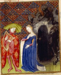 Harley MS 4431 c 1410-c 1414,  The manuscript, known as 'The Book of the Queen', includes Works by Christine de Pizan, assembled for Isabel (Isabeau) of Bavaria, queen consort of Charles VI of France ...  Folio 126v
