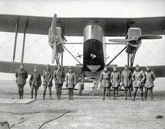 Shorpy Historic Picture Archive :: The Big Biplane: 1918 high-resolution photo