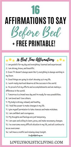 Night time affirmations for before bed! Love these positivity affirmations to re. Night time affirmations for before bed! Love these positivity affirmations to repeat at night. Affirmations Louise Hay, Positive Affirmations For Kids, Christian Affirmations, Healing Affirmations, Positive Affirmations Quotes, Self Love Affirmations, Morning Affirmations, Law Of Attraction Affirmations, Affirmation Quotes