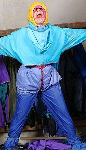 Rainwear bondage