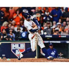 bd9d41e60 George Springer Houston Astros Fanatics Authentic 2017 MLB World Series  Champions Autographed 16