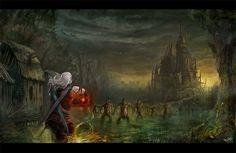 Flavio Bolla - Battle in the swamps