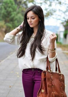 Cognac and bordeaux... better not drink- but definitely a fall colour combination!