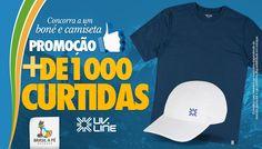 Agora valendo um boné e uma camiseta com proteção UV na promoção junto com a UV LINE.  Leia o regulamento e participe.  #promocao1000curtidasbrasilape #brasilape #conhecerparapreservar #uvlinefazbem  http://brasilape.com.br/promocao-1000-curtidas-brasil-a-pe-e-uv-line/