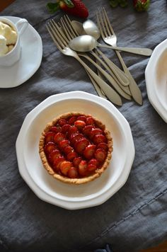 Strawberry Tartlets, a Wink to Spring
