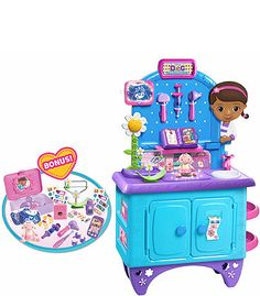 "Doc McStuffins Exclusive Deluxe Get Better Check-Up Center - With Lab Coat and Medical Kit - Just Play - Toys ""R"" Us"